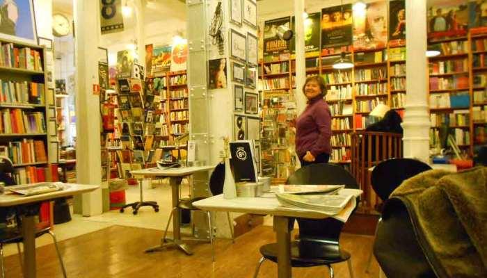 8 y medio, librerías de Madrid