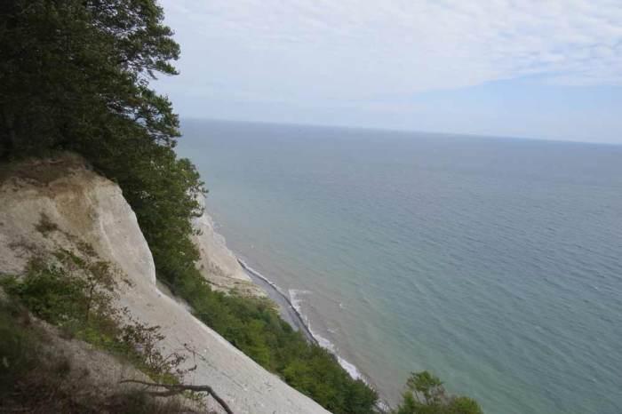 Viajes en bici por Europa Acantilados Isla de Mon