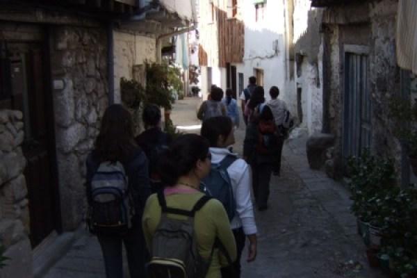 Visita guiada en Hervas