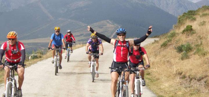 Viaje guiado en bici por la Transcantabrica