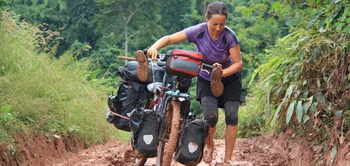 Laura Martinez 10 años en bici