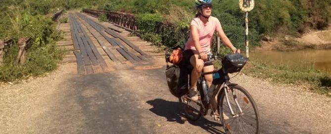 cicloturismo por Asia