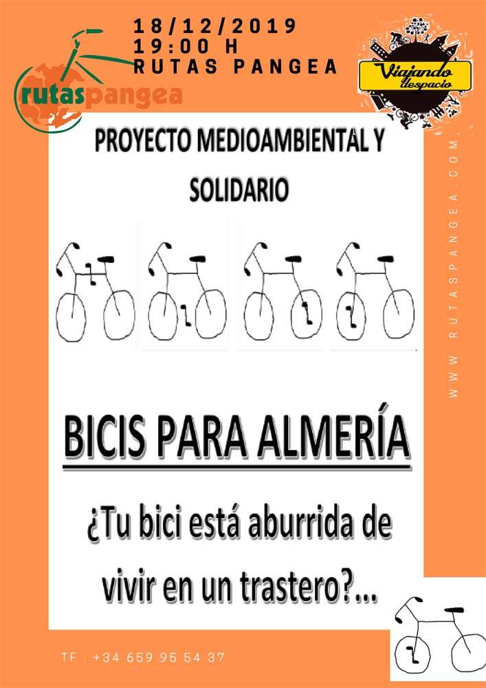Presentacion bicis para almeria en Rutas Pangea