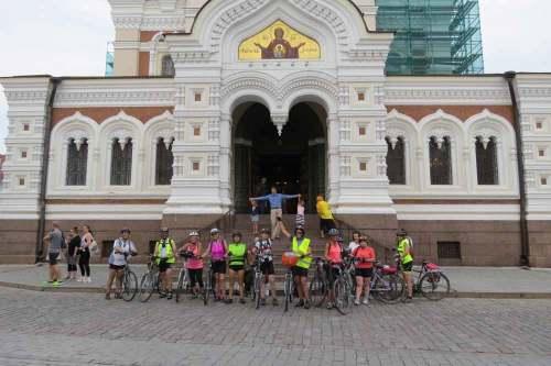 A San Petersburgo en bici
