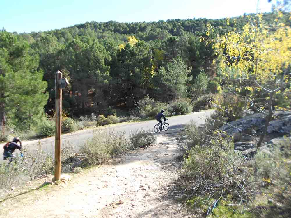 Ciclismo por la Sierra de Guadarrama con Rutas Pangea