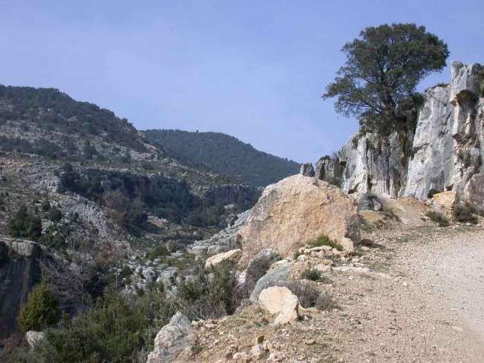 viajando en bici por el Sistema Iberico