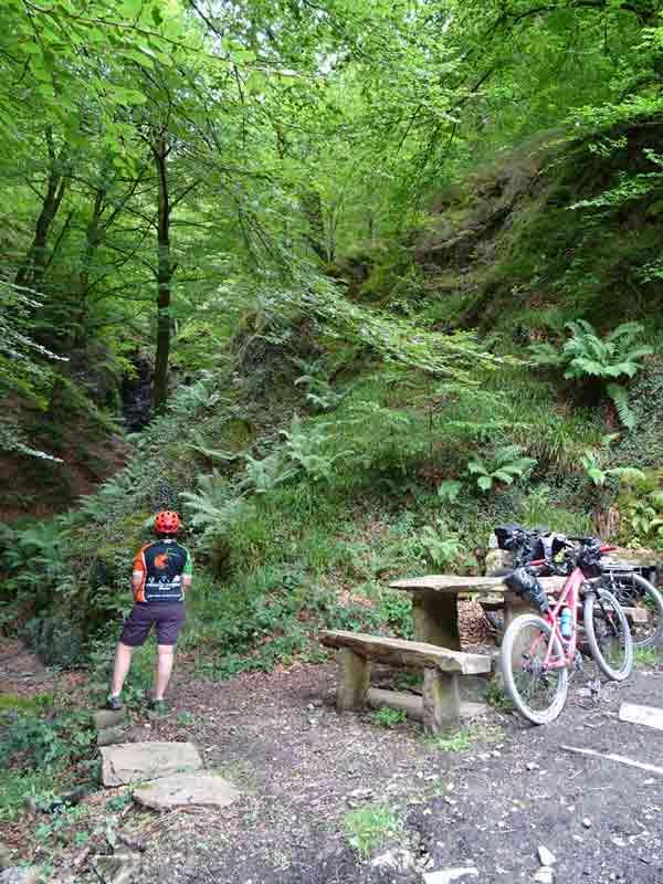 Valle del Baztán en bici San Juan Xar