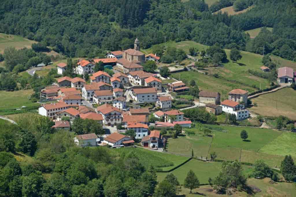 Vista panorámica de Beintza