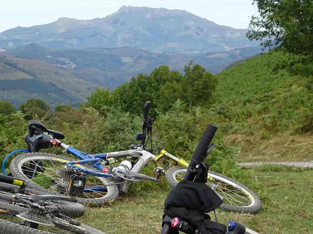 Valle del Baztán en bici