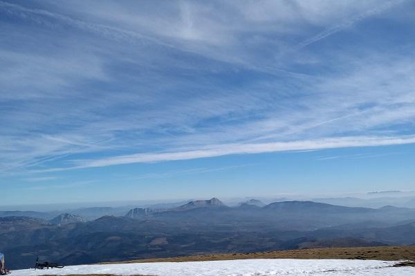 Anboto desde la cima del Gorbea