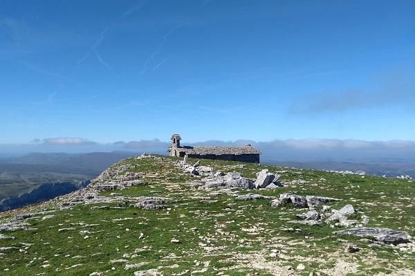 Ermita de San Donato desde Beriain