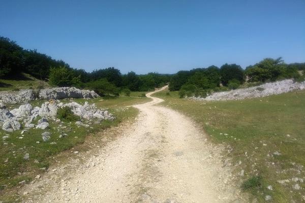 Hacia Ermita de San Adrian