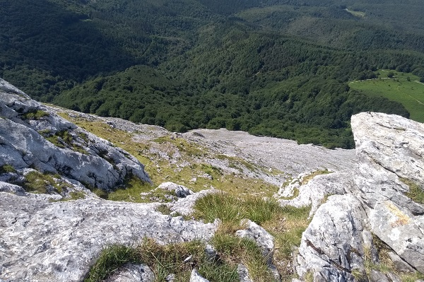 Vista desde la senda