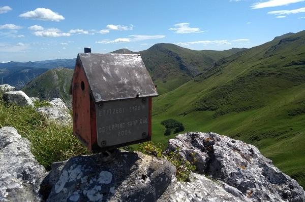 Etitzegi 1184 m en Aralar