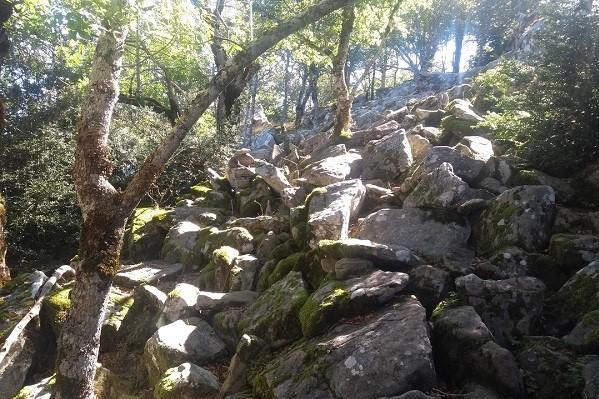 tramo rocoso sierra de leire