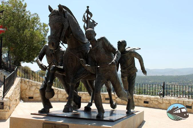Monumento al caballo del vino - Caravaca de la Cruz