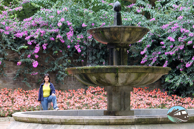 Parque de la Alameda en Santiago de Compostela