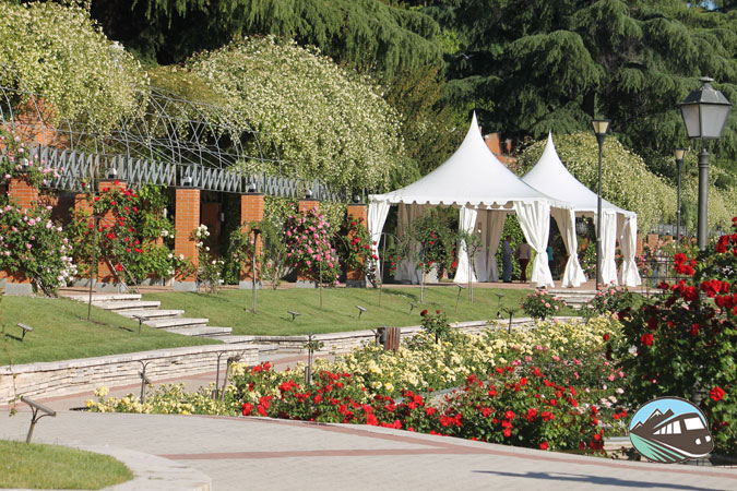 Jardín de la Rosaleda - Madrid