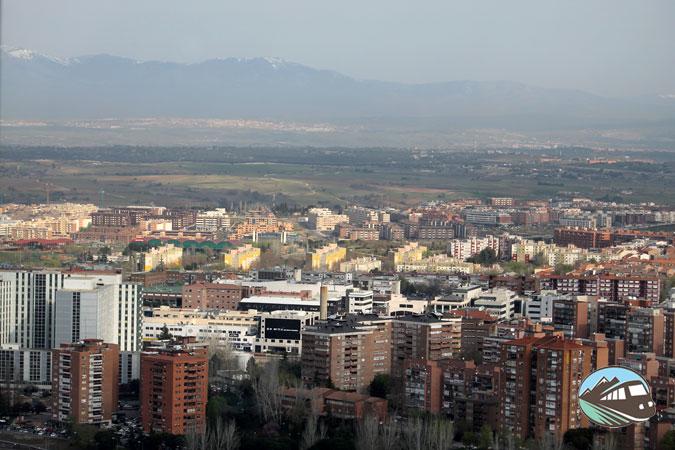 Panorámica desde hotel Eurostar Tower – Madrid