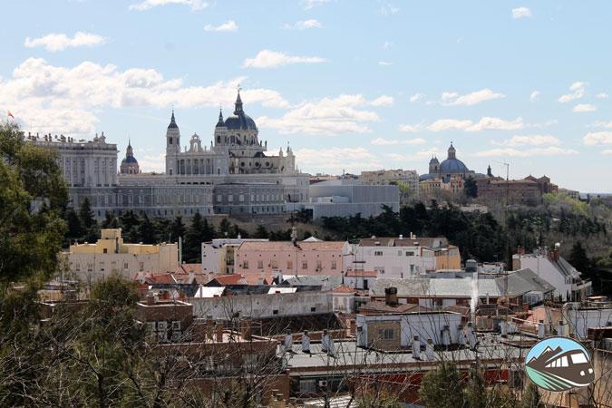 Panorámica desde el Templo de Debod – Madrid
