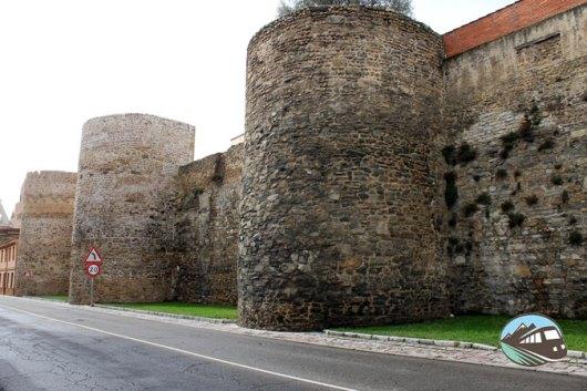 Muralla romana de León