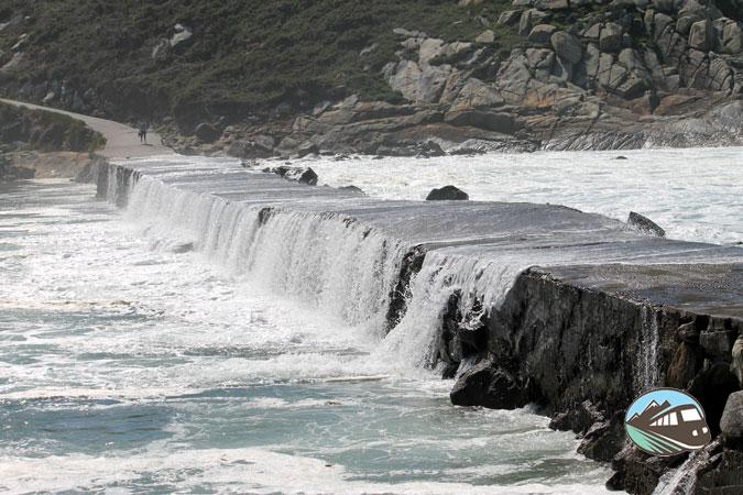 Islas Cíes con la Subida de la marea