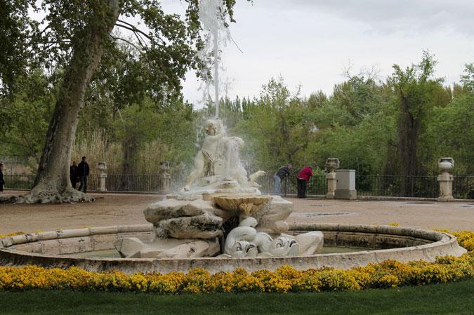 Fuentes de los Jardines de Aranjuez