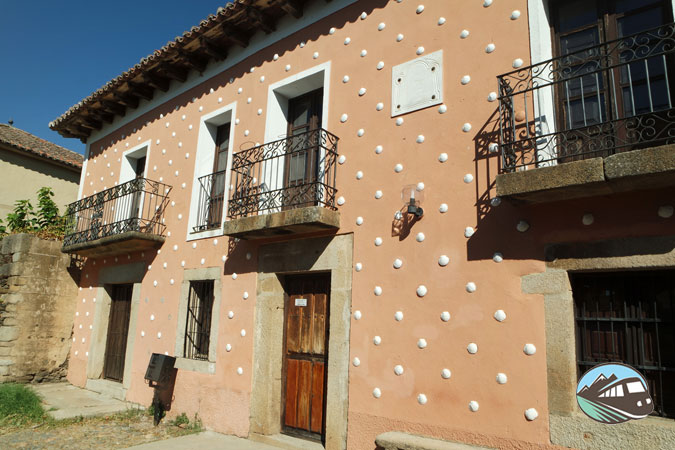 Casa de las Conchas en Granadilla
