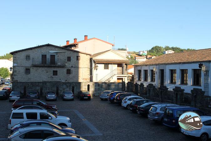 Plaza  de Miranda de Castanar