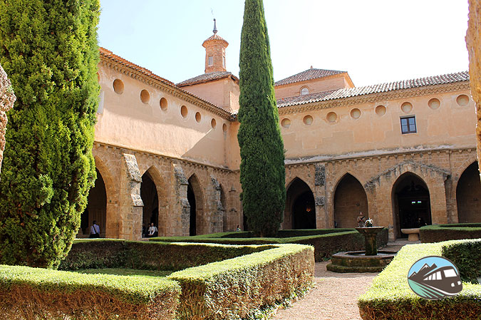 Claustro del Monasterio de Piedra