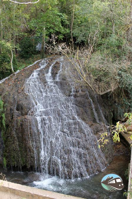 Los Chorreaderos - Parque del Monasterio de Piedra
