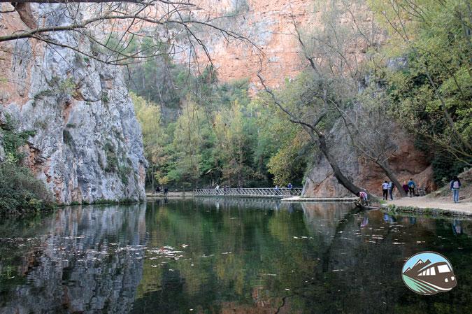 Lago del espejo - Parque del Monasterio de Piedra