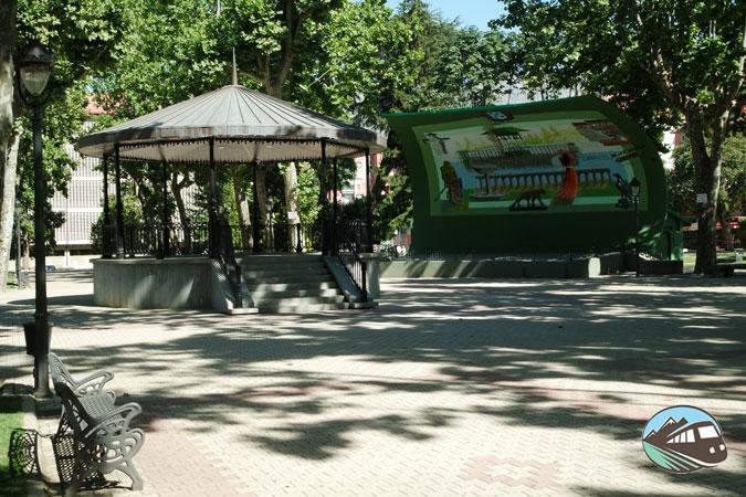 Plaza de España de Béjar