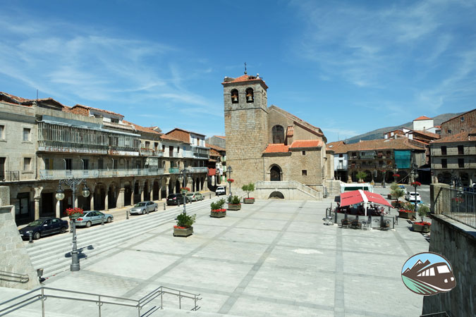 Plaza Mayor Béjar