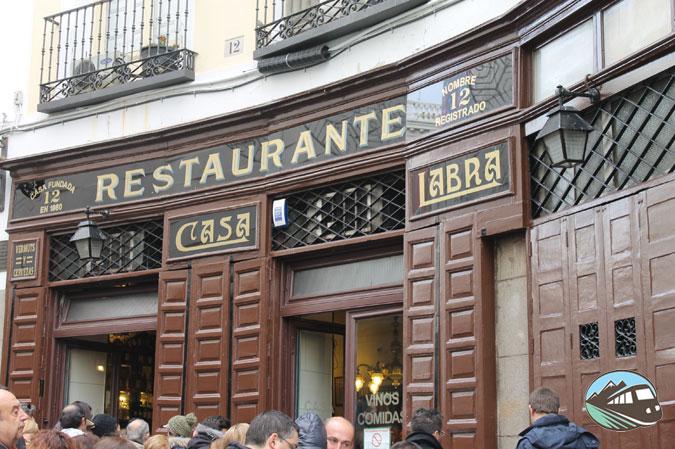 Casa Labra - Locales Centenarios de Madrid