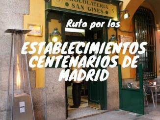 Locales Centenarios Madrid