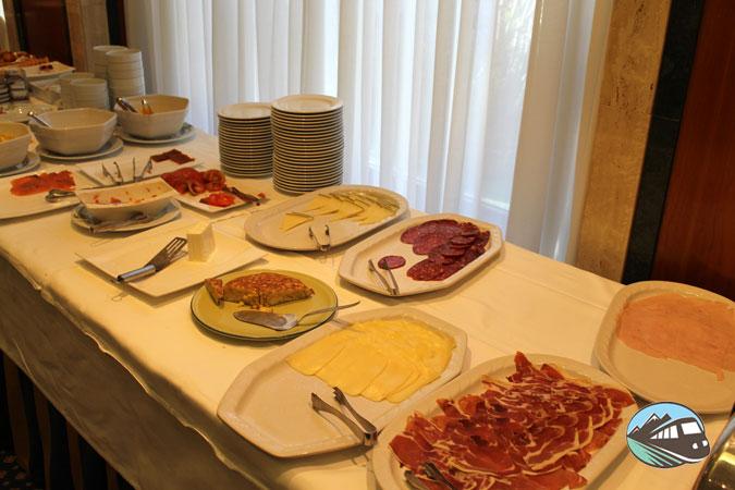 Hotel Olid Valladolid - Desayuno Buffet