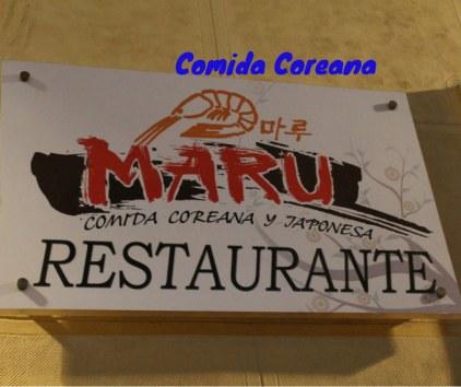 Restaurante COreano Maru