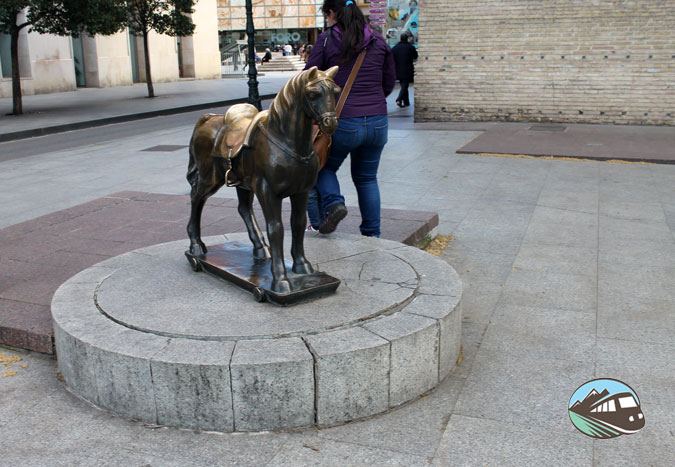 El caballito de la Lonja – Zaragoza