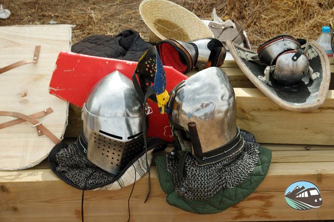 Combate medieval en Belmonte