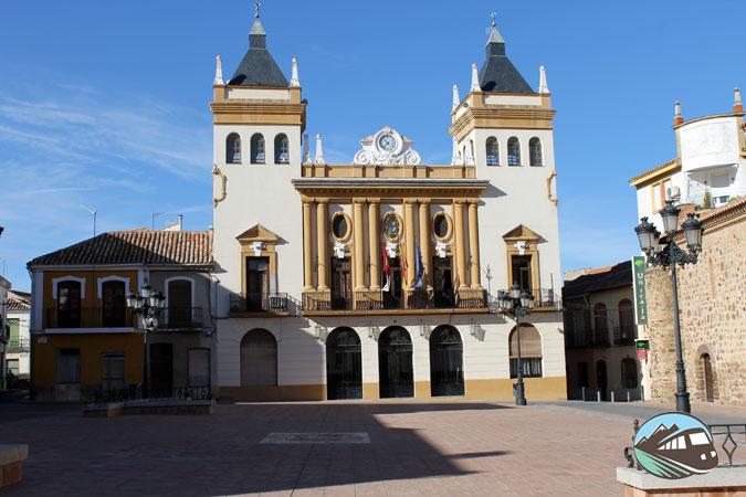Plaza Mayor de Almodóvar del Campo