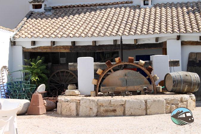 Típico patio castellano – El Toboso