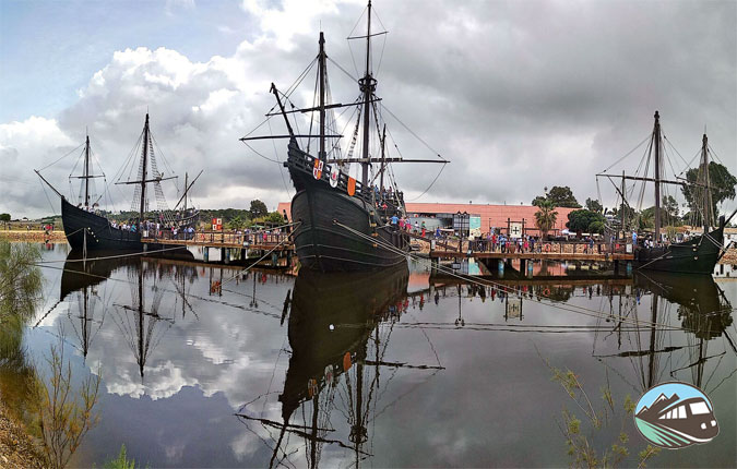 Muelle de las Carabelas - Huelva
