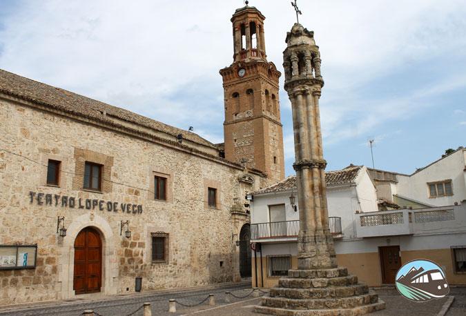 Teatro Lope de Vega y rollo jurisdiccional - Ocaña