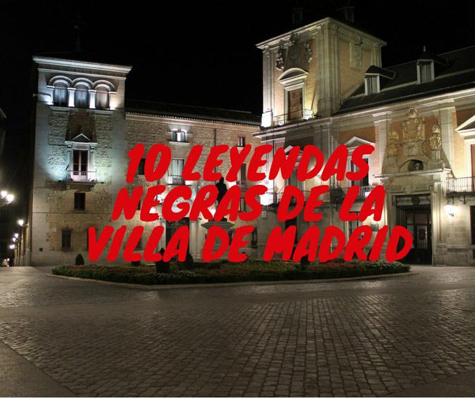 Leyenda negra Madrid