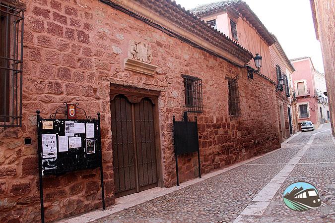 Casas blasonadas de Alcaraz