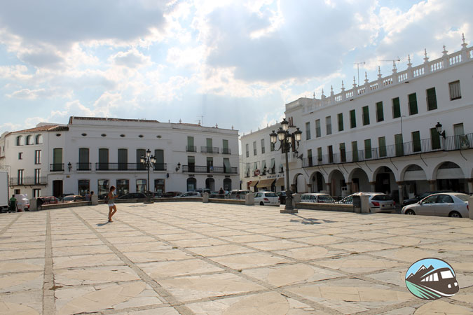 Plaza Mayor de Llerena