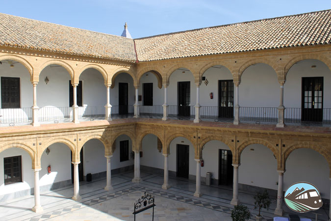 Patio de la Universidad de Osuna