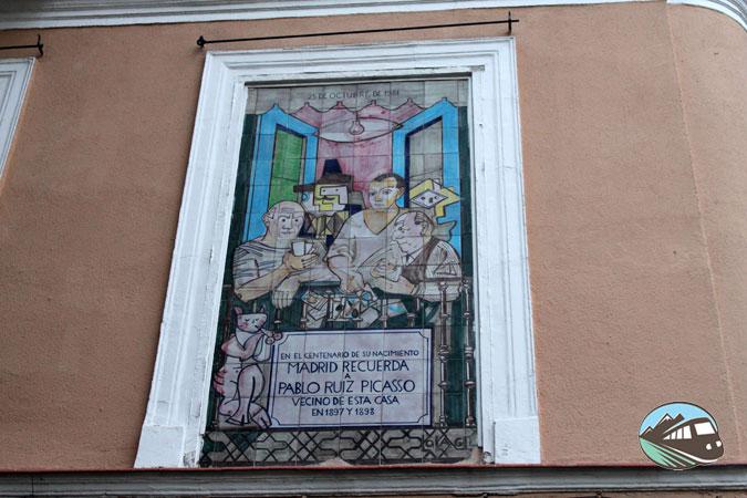 Mural de Picasso - Lavapiés