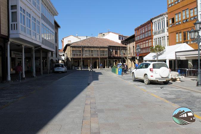Plaza de España - Aguilar de Campoo